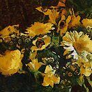 Flowers à la Van Gogh by Gilberte