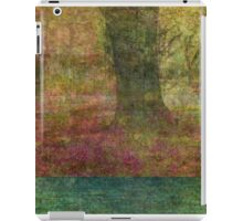 Autumn Landscape in yellow, red, and orange iPad Case/Skin