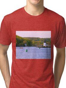 Mystic Greenery Tri-blend T-Shirt