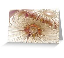 Icy Daisies Greeting Card