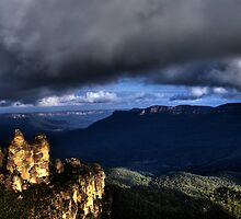 The Three Sisters Blue Mountains Katoomba - HDR by DavidIori