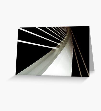 The New Bridge - Detail - CAC Greeting Card