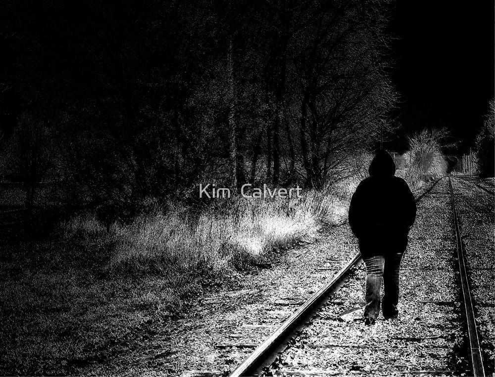 Dark Walk by Kim  Calvert