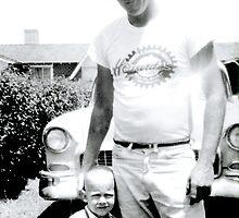 Tommy & Dad by Rhonda Strickland