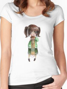 Mori Girl Women's Fitted Scoop T-Shirt