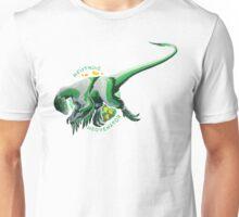 Neutrois Neovenator (with text)  Unisex T-Shirt