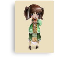 Mori Girl Canvas Print