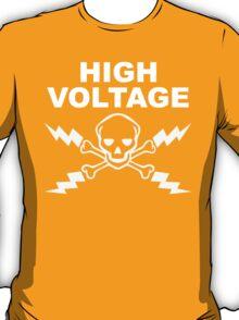 High Voltage - White T-Shirt