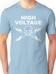 High Voltage - White Unisex T-Shirt