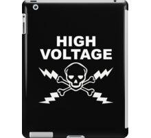 High Voltage - White iPad Case/Skin