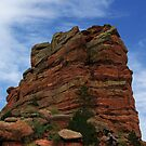 Red Rock Amphitheatre by brucecasale