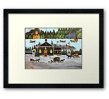 Folk Art Framed Print