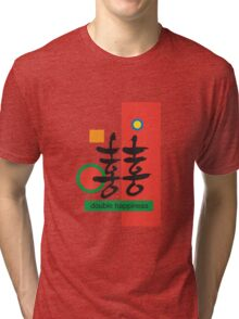 Double happiness Tri-blend T-Shirt