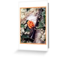 Solo Clarinet Greeting Card