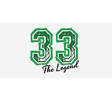 The Legend 33 design Photographic Print