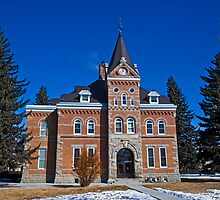 Jefferson County (Montana) Court House by Bryan D. Spellman