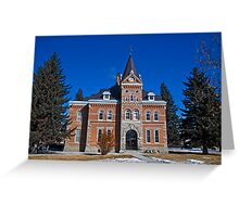 Jefferson County (Montana) Court House Greeting Card