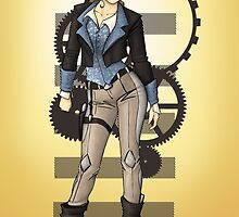Steampunk Pirate - Captain Spade by CatAstrophe