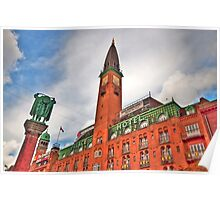 Palace Hotel Copenhagen Poster