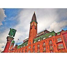 Palace Hotel Copenhagen Photographic Print