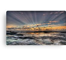 Days first rays Canvas Print