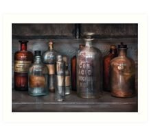 Chemist - Things that burn Art Print