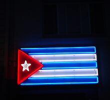 Neon Cuba by robertgassaway