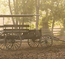 Wagon - Abe's Buggie by Mike  Savad