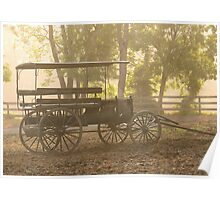 Wagon - Abe's Buggie Poster