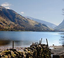 Buttermere from the Eastern Bank by Ellie Monks