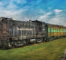 Train - Baldwin Locomotive Works by Mike  Savad