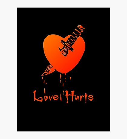 Love Hurts by Chillee Wilson Photographic Print