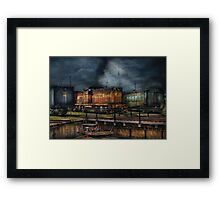 Train - Let's go for a spin Framed Print
