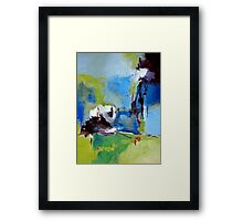 All Is Not Lost Framed Print