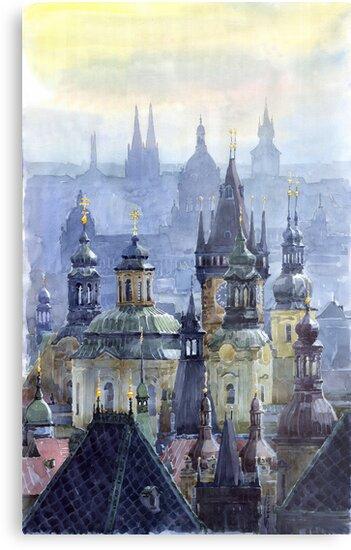 Prague Towers by Yuriy Shevchuk