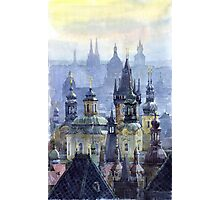 Prague Towers Photographic Print