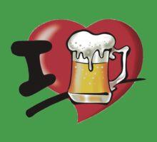 I Love Beer T-Shirt