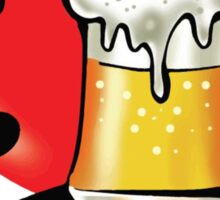 I Love Beer Sticker