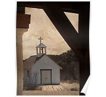 Little White Church in the Valley Poster
