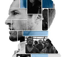 Ian Bohen Face Squares by jordams124