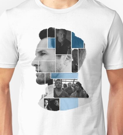 Ian Bohen Face Squares Unisex T-Shirt