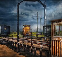 Train - On the turntable by Mike  Savad
