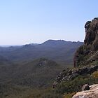 The Majesty of it! View from High Tops. Warrumbungle Nat. Park. N.S.W. by Rita Blom