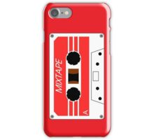 Mixtape Cassette Tape by Chillee Wilson iPhone Case/Skin