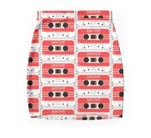 Mixtape Cassette Tape by Chillee Wilson Mini Skirt