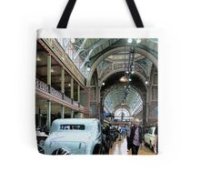 Exhibition of Classic Cars Tote Bag