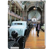 Exhibition of Classic Cars iPad Case/Skin