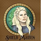 Lagertha - Shield Maiden by CatAstrophe