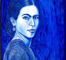 Frida Painting by JETIII