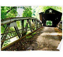Otway Bridge, Ohio Poster